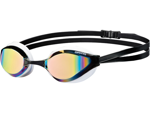 arena Python Mirror Goggles revo-white